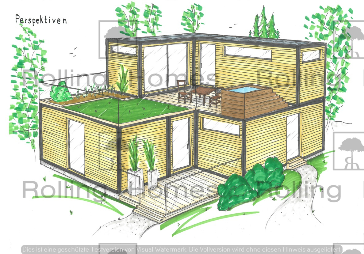 Minimodulhaus Wohnungen 3