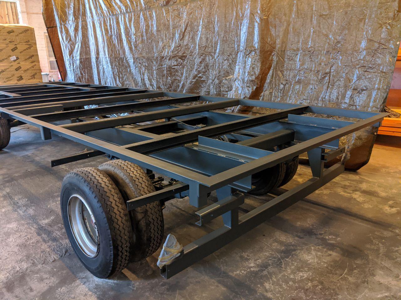 Bauwagen Fahrgestell