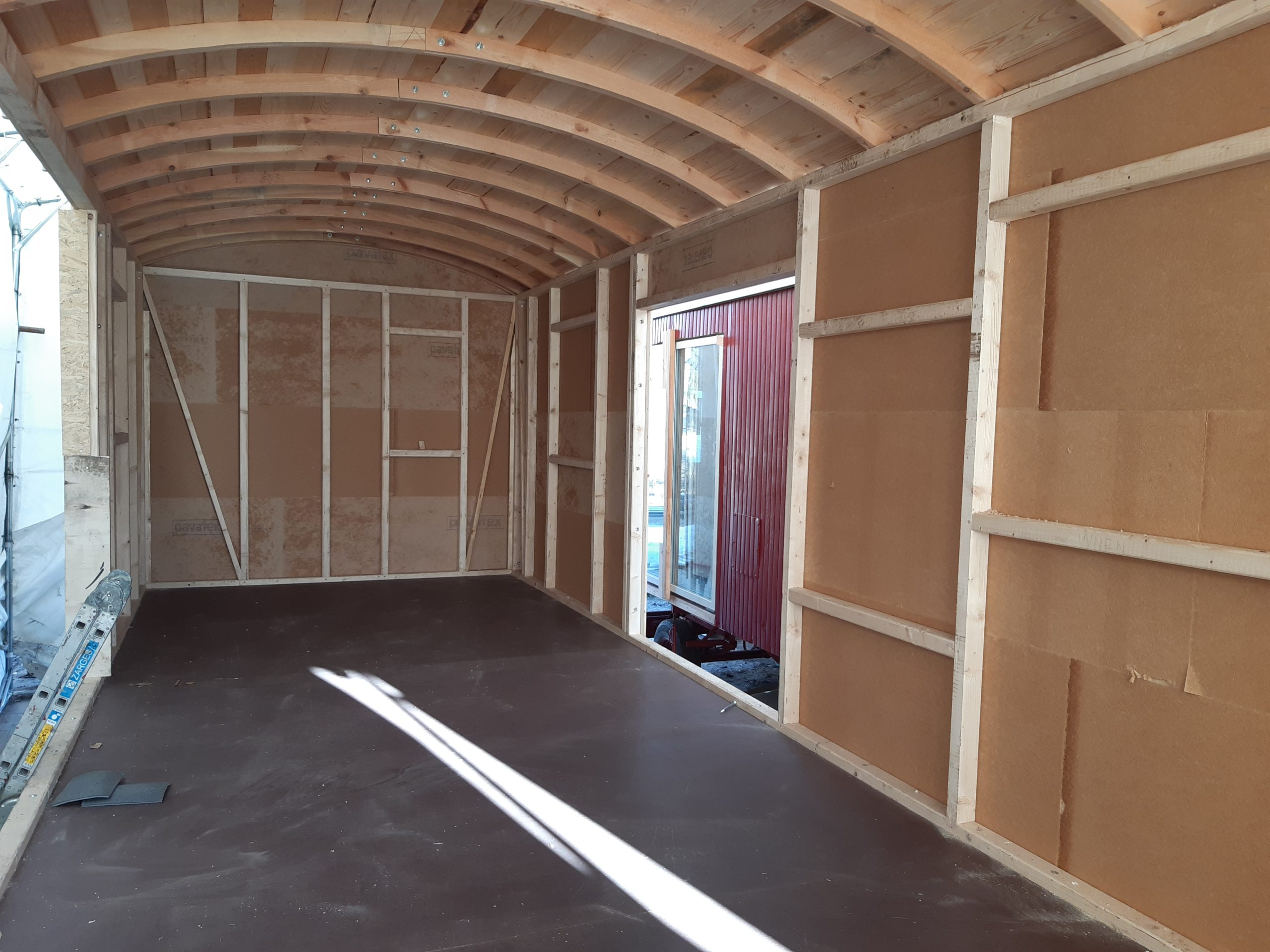 Rohbau TinyHouse Bauwagen Mobilheim